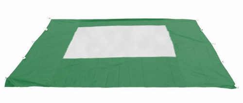 Boční stěna párty stanu zelené barvy