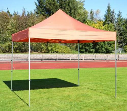 Oranžový párty stan 3x3 metry