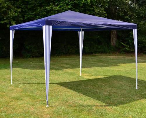 Zahradní párty stan 3x3m modré barvy