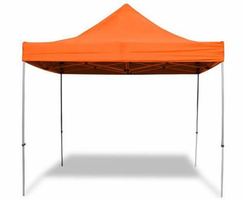 Zářivě oranžový párty stan 3x3 m
