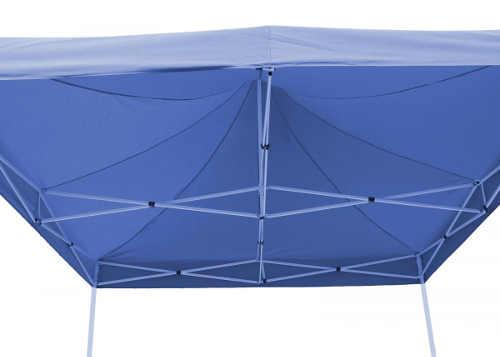 Nůžkový párty stan 3x3 s modrou střechou