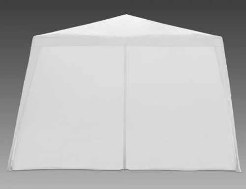 Jednobarevný bílý zahradní párty stan 3 x 3 m