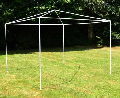 Zahradní párty stan 3 x 3 m s lehkou konstrukcí