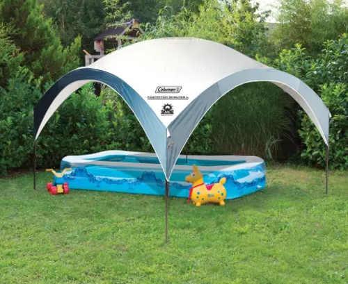 Párty stan pro zastřešení dětského bazénu
