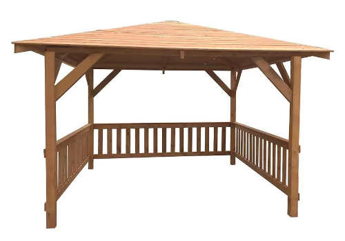 Dřevěný zahradní altán 3x3x2,7m