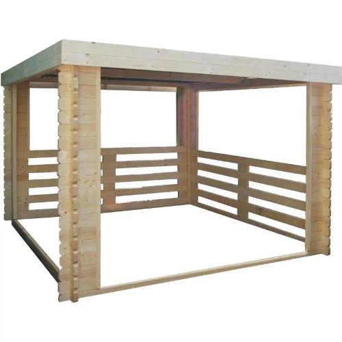Dřevěný altán pro posezení i jako přístřešek