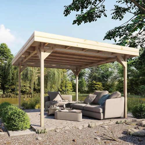 zahradní altán ze dřeva